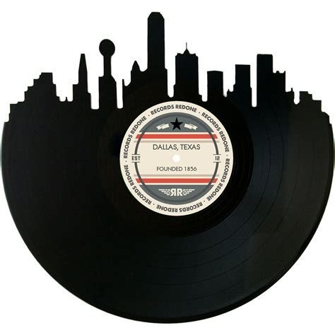 Dallas Records Dallas Skyline Records Redone Label Vinyl Record