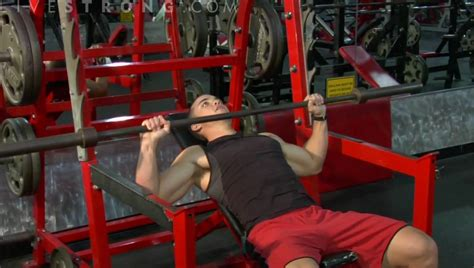 how to do incline bench press how to do an incline barbell bench press youtube