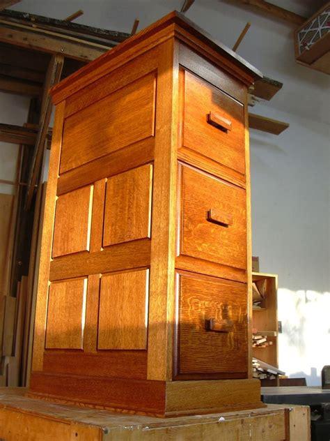 hand crafted file cabinet  secret drawer  blue hill