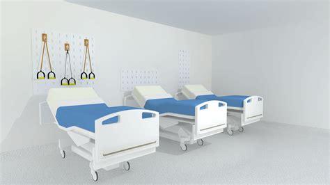 Hospital Bed hospital bed heads solid racks