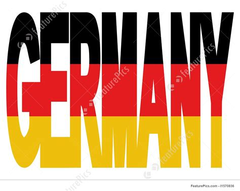 tag how to type at symbol on german germany text with flag illustration