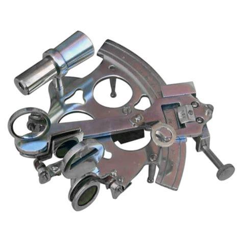 sextant box aluminum sextant wooden box nautical decor