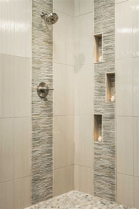 bathroom shower tiles bath ideas tile bathrooms accent gallery impressive wall