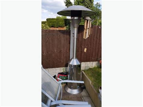 Stainless Steel Large Patio Heater Dudley Dudley Large Patio Heater