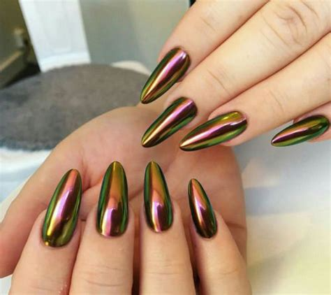 Nails Chrome Design