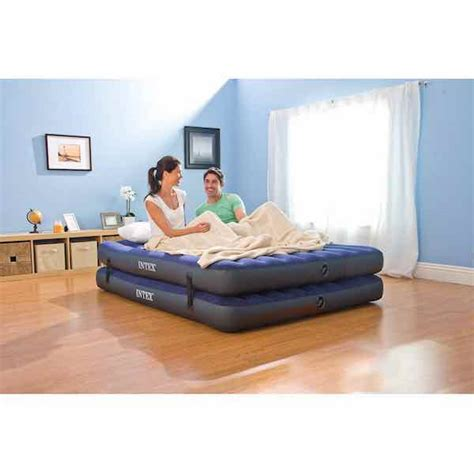 intex 2 in 1 guest airbed only 24 99