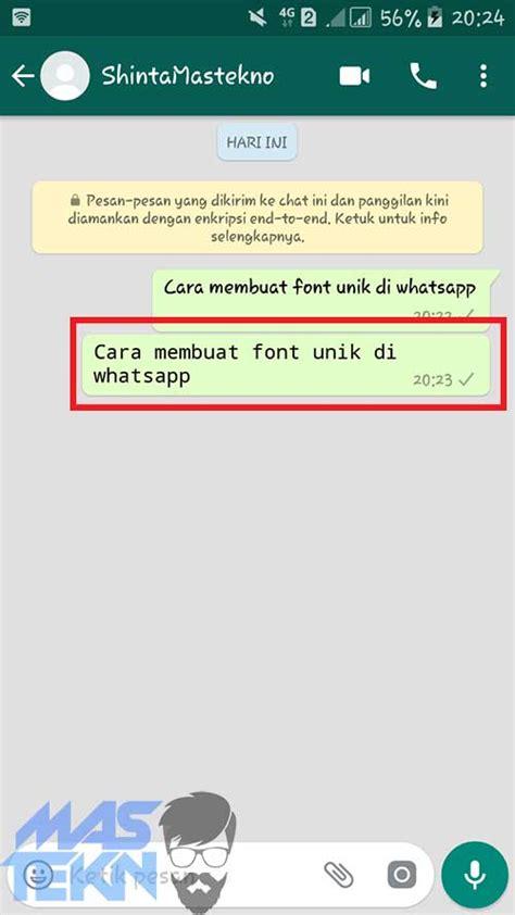 cara menggubah kouta whatsapp menjadi regular cara mudah mengubah font di whatsapp android tanpa root