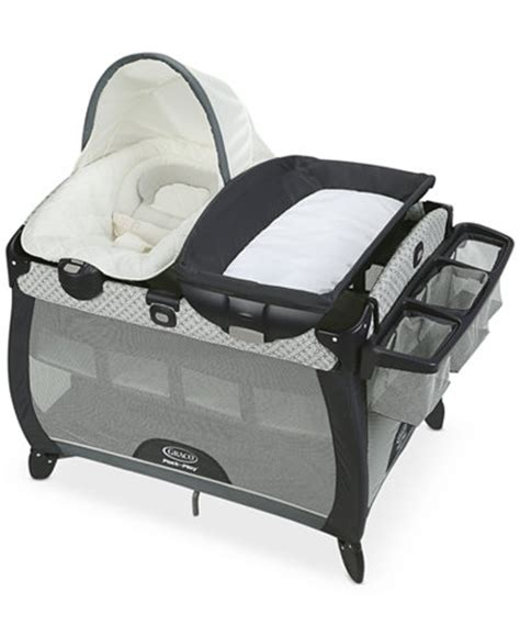 Vibrations Shoes Pack Built In Rumble Feature by Graco Pack N Play Playard Connect With Portable