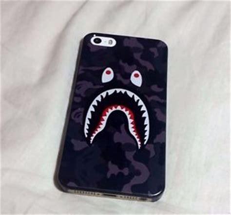 Xiaomi Mi 5 5 S Bape Shark Camo Pattern Caver Haedcase bape iphone 5 5s shark logo camo print hardback a