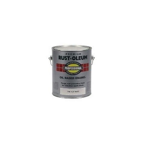 buy the rust oleum 7790402 enamel rustoleum flat white 1 gallon hardware world