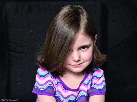 girl hairstyles medium hair shoulder length bob hairstyle for a grown up little girl