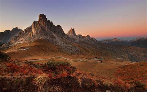 nature landscape sunrise mountain mountain pass