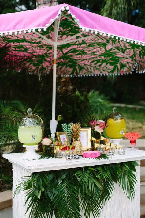 themed bridal shower decorations aloha themed bridal shower decor wedding ideas