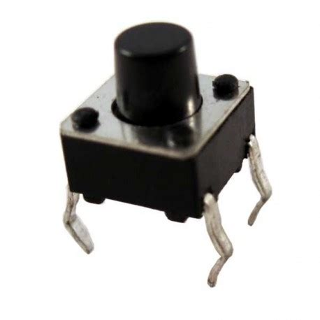 tactile switch kecil 4 pin 6 5mm digiware store