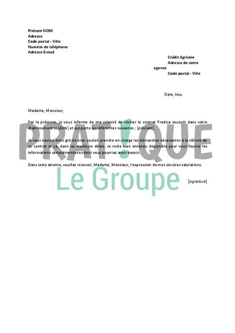 Free Fr Lettre De Resiliation Lettre De R 233 Siliation Predica Pratique Fr