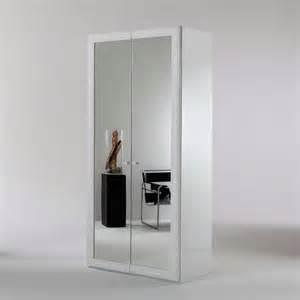 spiegel kleiderschrank spiegel kleiderschrank adnine in wei 223 100 cm pharao24 de