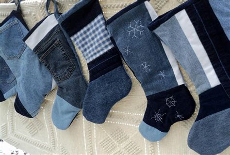 pattern for blue jean stocking blue jean christmas stocking reserved for susan