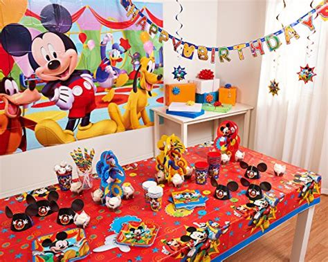 Blus Mickey Import disney mickey mouse birthday hanging swirl ceiling import it all