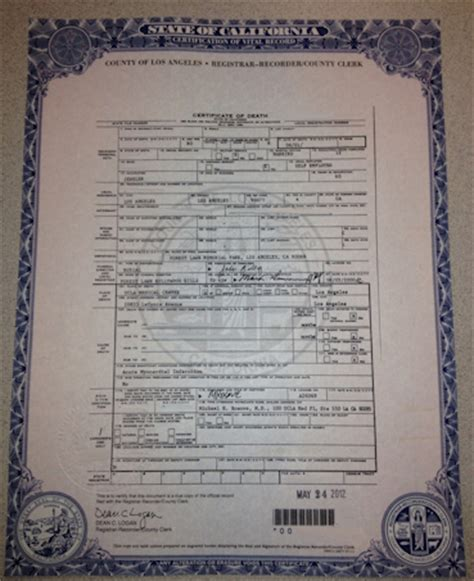 Contra Costa Divorce Records Apostille Certificate California Apostille
