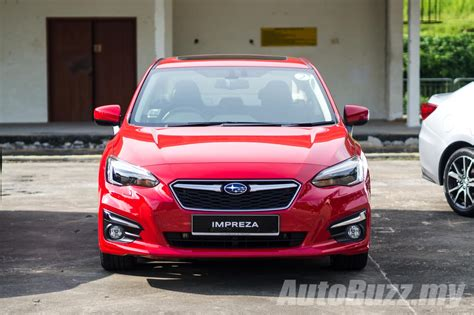 subaru malaysia 2017 2017 subaru impreza launched in singapore may come to