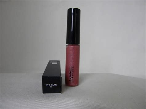 Lip Gloss Viva mac lip gloss glass viva glam vi 6 new boxed lip gloss