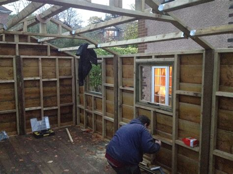 building a workshop waney edge shed build the wooden workshop oakford devon