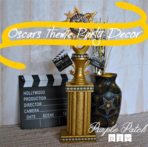 oscar themed decoration ideas menus for themed oscar 2014