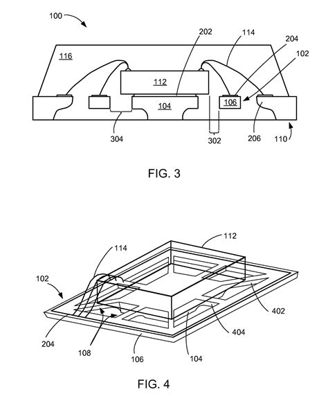 integrated circuits etching patent us7863108 integrated circuit packaging system with etched ring and die paddle and