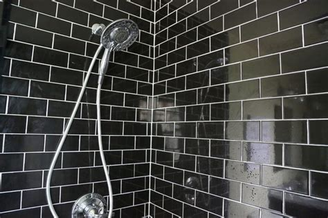 black subway tile 4 reasons you should use black subway tile in your bathroom