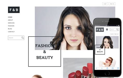 Free Responsive Mobile Website Templates Designs W3layouts Com Fashion Website Templates