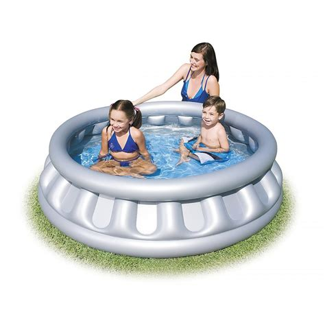 bestway spaceship splash and play paddling pool 152 x 43cm