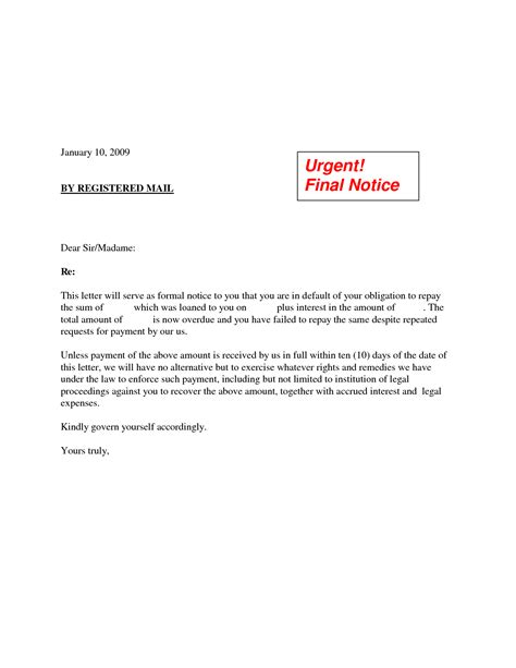 Demand Letter To Pay Best Photos Of Demand Notice Template Payment Demand Letter Sle Payment Demand