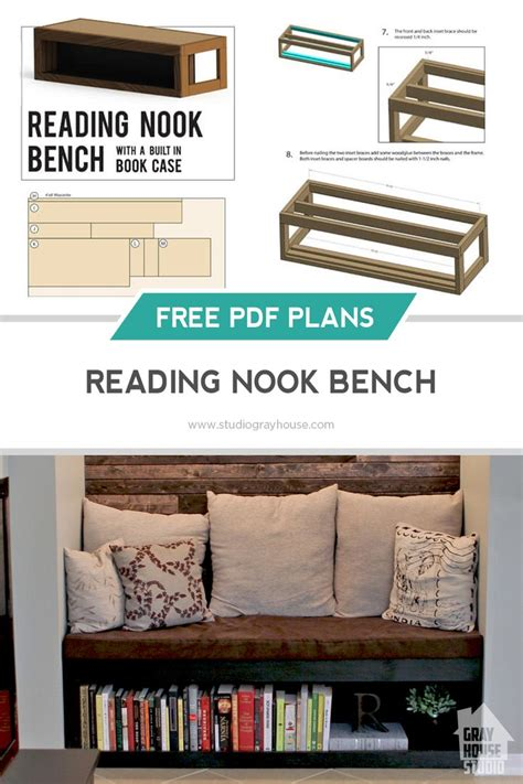 reading nook bench 1000 images about future home on pinterest shelves