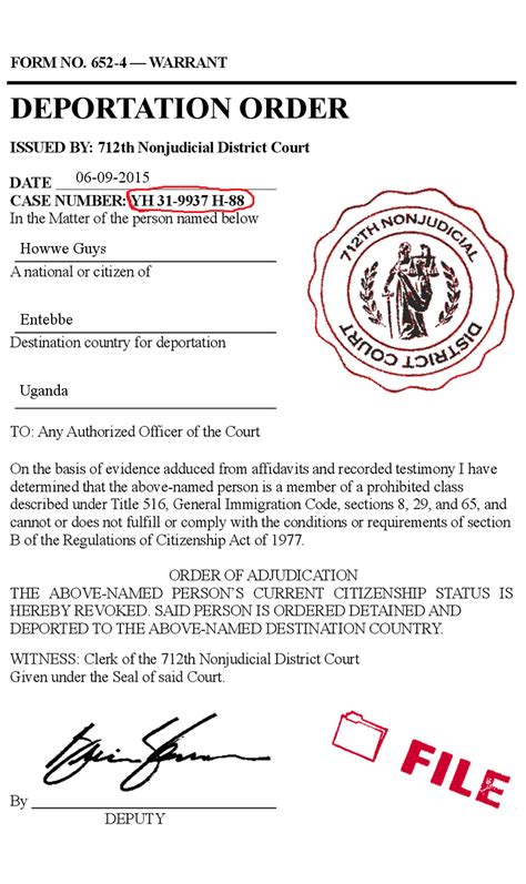 Types Of Court Documents