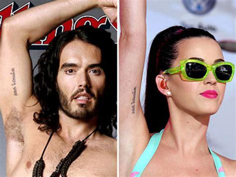 tattoo de katy perry brazo 10 locuras de amor que hicieron los famosos tkm argentina