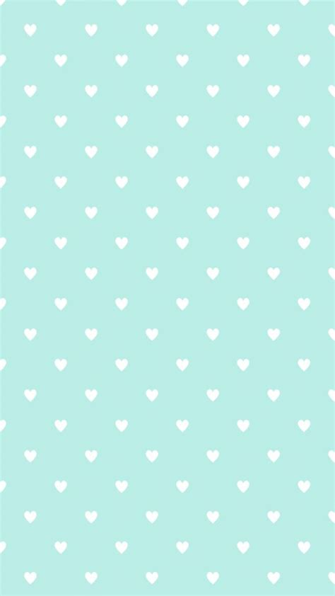 pattern blue heart iphone wallpaper lunares corazones estrellas etc