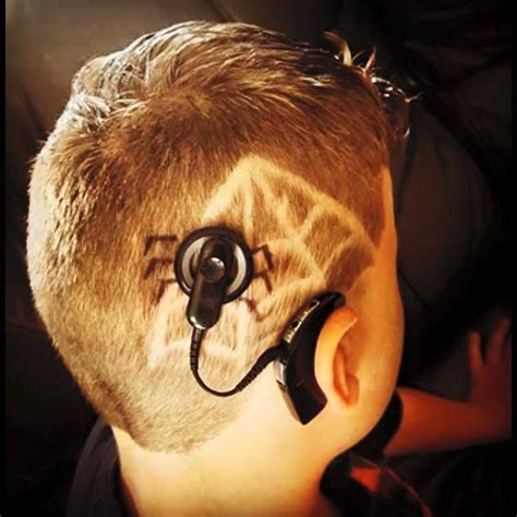 hairstyles haircut spider and spider web child with cochlear implant and spider web haircut