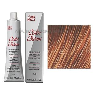 nutmeg hair color wella color charm permanent gel 7wv nutmeg stop