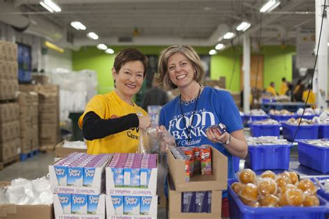 Volunteer At Food Pantry by Volunteer Regional Food Bank