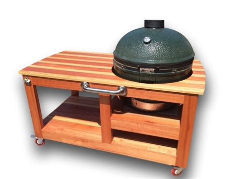 buy a made custom big green egg table made to order