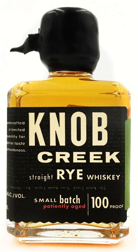 Knob Creek Rye Whiskey Review by Knob Creek Rye Whiskey 50ml Miniature Bottle Knob Creek
