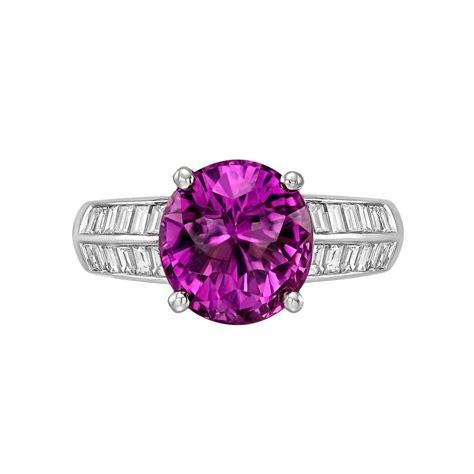 purplish pink sapphire ring betteridge