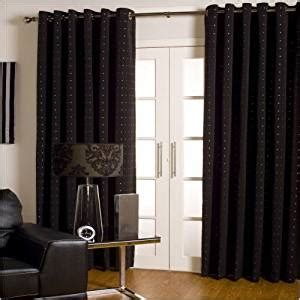 silver black curtains extra wide long lined eyelet curtains black silver