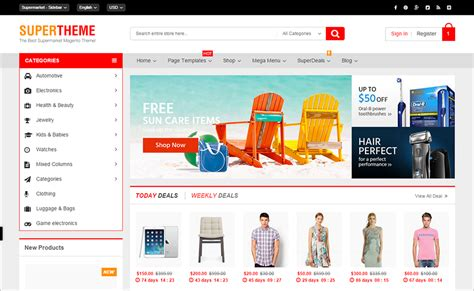 magento ecommerce templates free magento ecommerce themes free premium templates