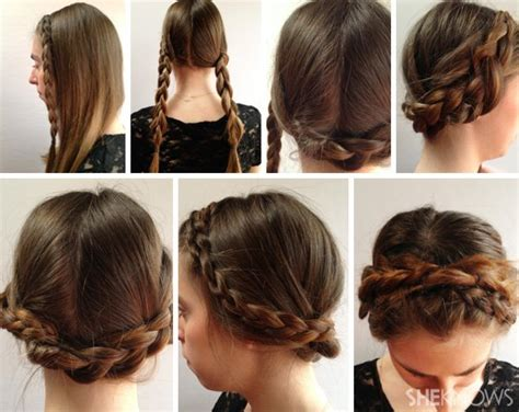 how to do different hairstyles step by step للمدرسه والجامعه سهله ومريحه