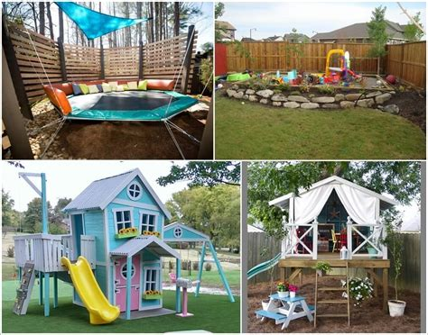 12 cool ideas for a backyard play area