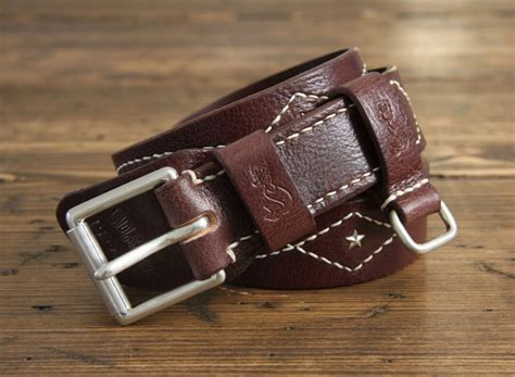 Custom Handmade Leather Belts - soxisix belt vz 29 sk brown soxisix highest