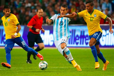 brazil vs argentina live score highlights from