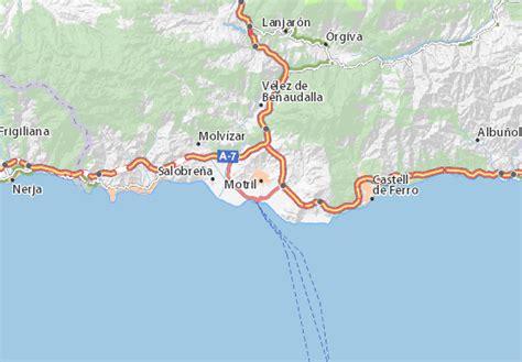 map 9083 granada michelin map of motril michelin motril map viamichelin