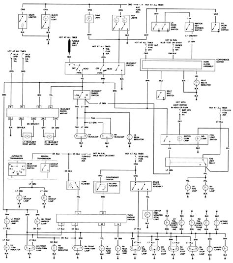 1986 chevy headlight wiring diagram new wiring diagram 2018